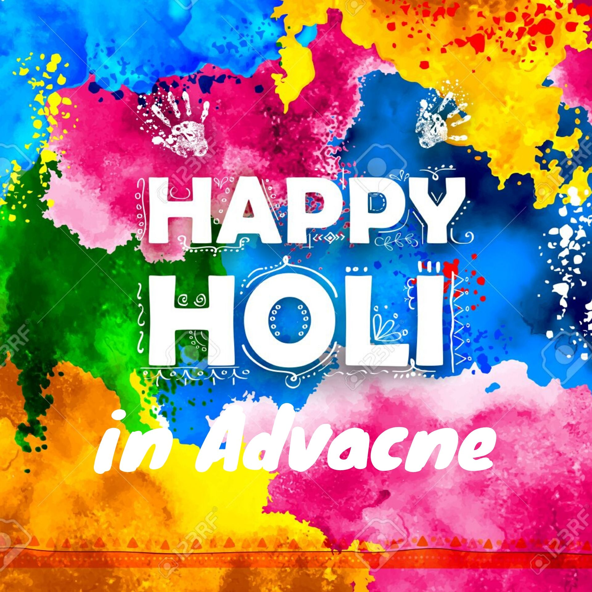 advance happy holi